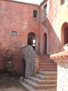 escalier de l'arche de la borie noble