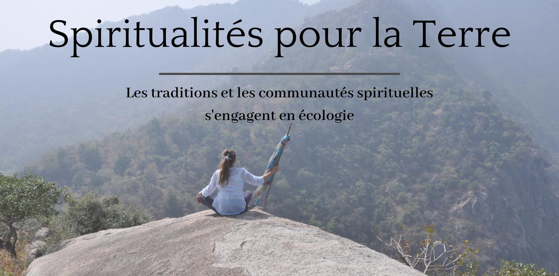 Header Spiritualités pour la Terre