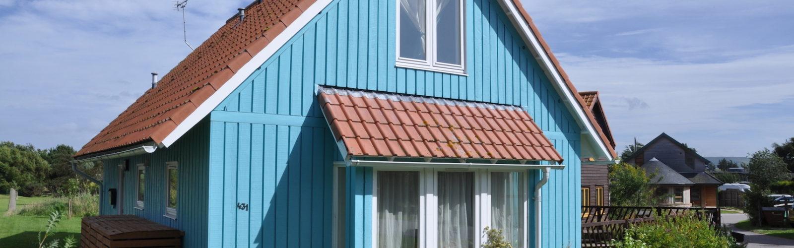 maison bleue findhorn